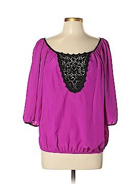 S. Line 3/4 Sleeve Blouse Size L