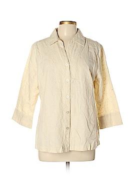 Croft & Barrow 3/4 Sleeve Button-Down Shirt Size XL (Petite)