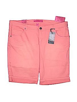 Pure Energy Denim Shorts Size 20 (Plus)