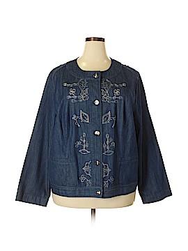 City Blues by Koret Denim Jacket Size 24 (Plus)