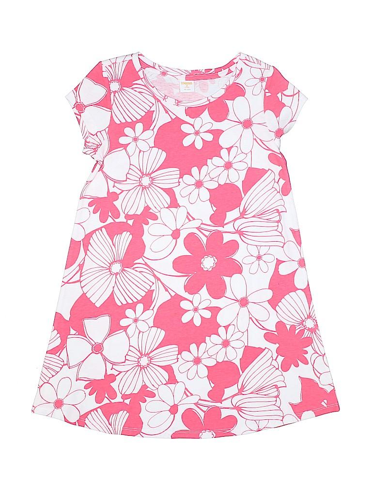 b8f96657c8a7 Gymboree 100% Cotton Solid Pink Dress Size 7 - 8 - 82% off | thredUP