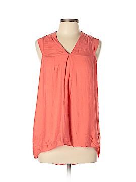 Simply Vera Vera Wang Short Sleeve Blouse Size L