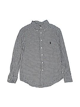Ralph Lauren Baby Long Sleeve Button-Down Shirt Size 8