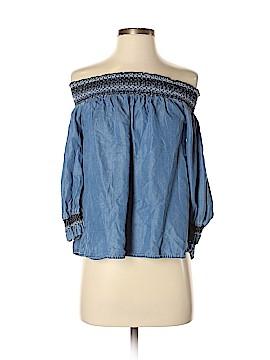Blue Rain 3/4 Sleeve Top Size S