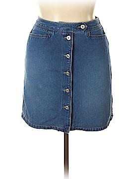 Lizwear by Liz Claiborne Denim Skirt Size 14
