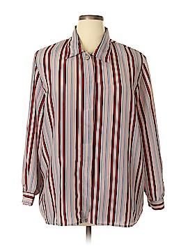 Sag Harbor Long Sleeve Blouse Size 22W (Plus)