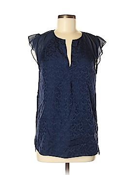 Rebecca Taylor Short Sleeve Silk Top Size 6