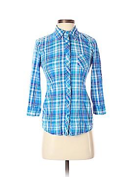 Op Long Sleeve Button-Down Shirt Size S