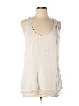 NM Luxury Essentials Sleeveless Silk Top Size 4