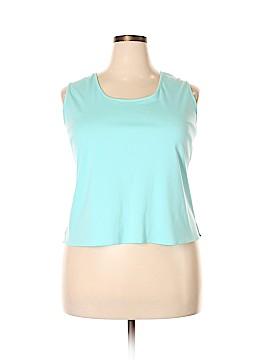 Joanna Plus Sleeveless Blouse Size 2X (Plus)