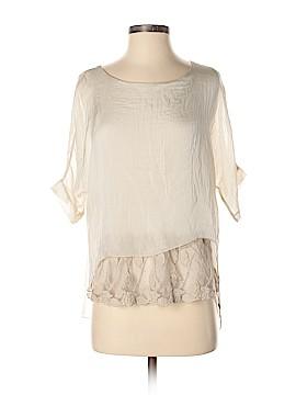 Carla Conti 3/4 Sleeve Silk Top Size S