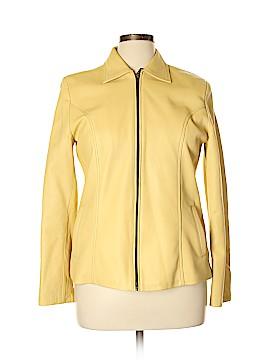 Gypsy & Co. Faux Leather Jacket Size 44 (EU)