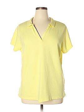 St. John's Bay Short Sleeve Polo Size 1X (Plus)