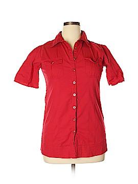 FANG Short Sleeve Button-Down Shirt Size XL