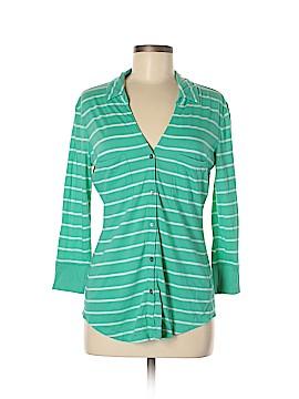 Express 3/4 Sleeve Button-Down Shirt Size M