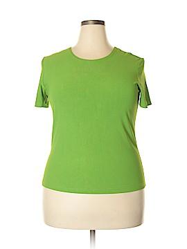 Carole Little Short Sleeve Top Size XL