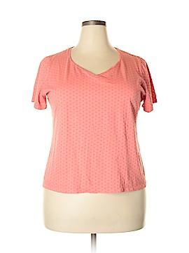 Talbots Short Sleeve T-Shirt Size 1X Petite (Plus)