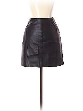 Comptoir des Cotonniers Leather Skirt Size 36 (FR)
