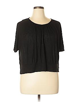I.N. Studio Short Sleeve Top Size 1X (Plus)