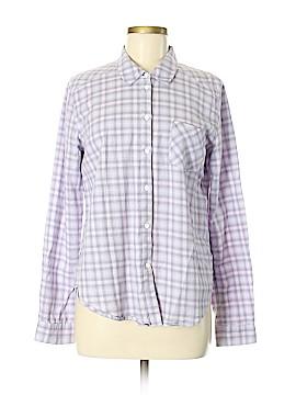 Paige Long Sleeve Button-Down Shirt Size M