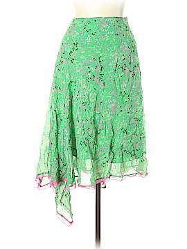 BCBGMAXAZRIA Silk Skirt Size L