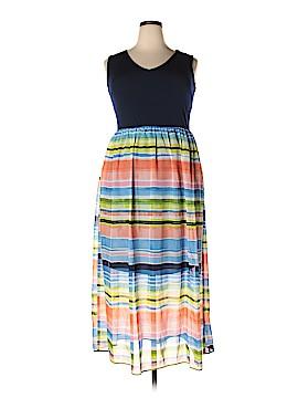 Sami + Dani Casual Dress Size 1X (Plus)