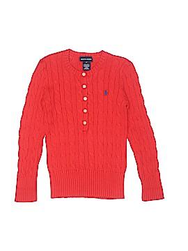 Ralph Lauren Pullover Sweater Size 6X