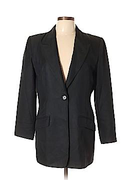 Halston Silk Blazer Size 10