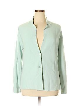 Eileen Fisher Silk Cardigan Size L