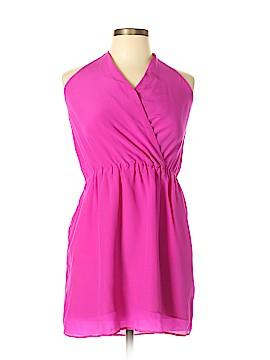Lavender Brown Casual Dress Size L
