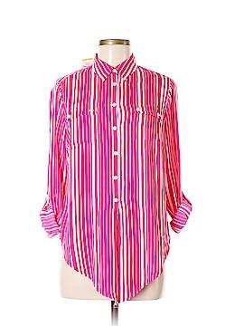 Jones New York Collection Long Sleeve Blouse Size M (Petite)