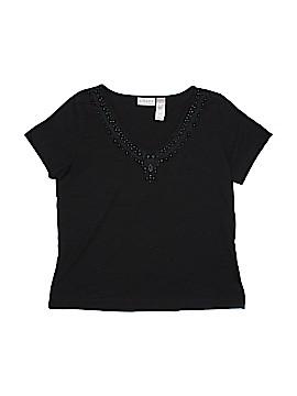 Villager Sport by Liz Claiborne Short Sleeve T-Shirt Size XL
