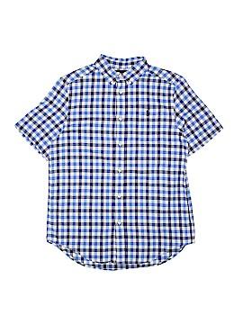 Ralph Lauren Short Sleeve Button-Down Shirt Size 14 - 16