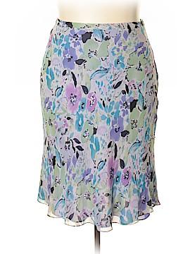 Coldwater Creek Silk Skirt Size XL