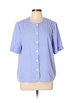Koret Short Sleeve Blouse Size XL
