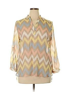 Tacera Long Sleeve Blouse Size L