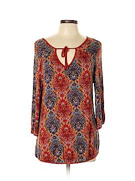Vintage Suzie 3/4 Sleeve Blouse Size L