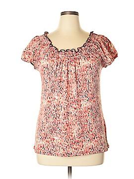 Carol Rose Short Sleeve Blouse Size XL