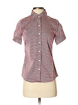 Banana Republic Short Sleeve Button-Down Shirt Size 2