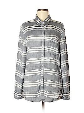Allison Joy Long Sleeve Button-Down Shirt Size S