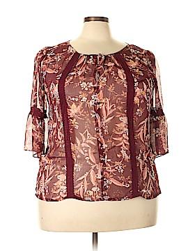 Lauren Conrad 3/4 Sleeve Blouse Size XXL