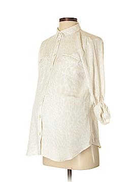 Ann Taylor LOFT Long Sleeve Blouse Size S (Maternity)
