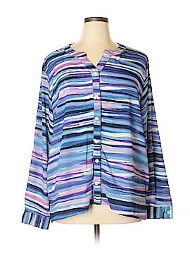 BonWorth Long Sleeve Blouse Size XL
