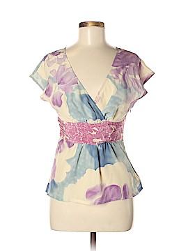 Odille Short Sleeve Silk Top Size 6