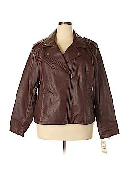 Levi Strauss Signature Faux Leather Jacket Size 3X (Plus)