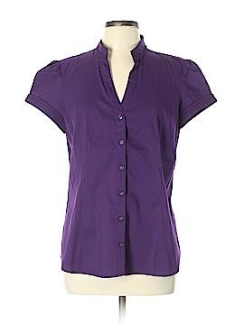 Express Short Sleeve Button-Down Shirt Size XL