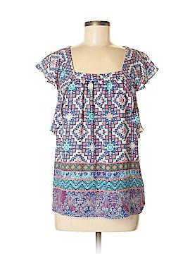 Meadow Rue Short Sleeve Blouse Size 6