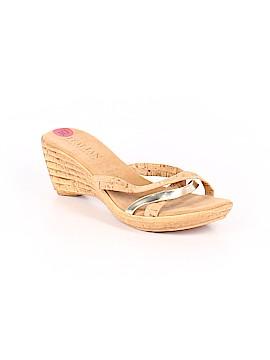 Italian Shoemakers Footwear Mule/Clog Size 10 1/2