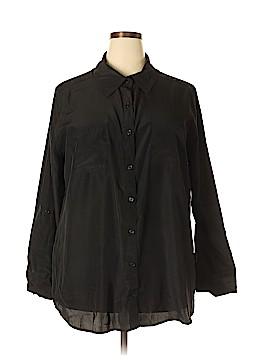 George Long Sleeve Blouse Size 2X (Plus)