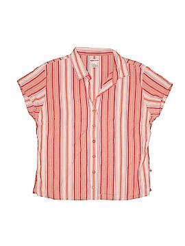 Sportif Short Sleeve Button-Down Shirt Size XL